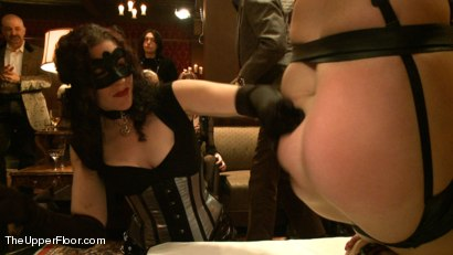 Photo number 7 from New Year's Eve! shot for The Upper Floor on Kink.com. Featuring Dylan Ryan, Bella Rossi and Odile in hardcore BDSM & Fetish porn.
