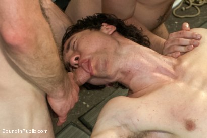 Photo number 7 from Skater Punk Gets What He Deserves shot for Bound in Public on Kink.com. Featuring Rob Yaeger, Kevin Case and Spencer Reed in hardcore BDSM & Fetish porn.