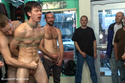 Photo number 1 from Skater Punk Gets What He Deserves shot for Bound in Public on Kink.com. Featuring Rob Yaeger, Kevin Case and Spencer Reed in hardcore BDSM & Fetish porn.