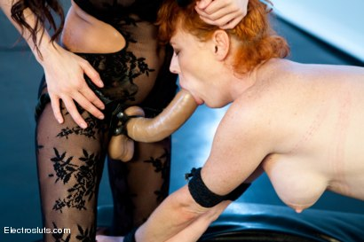 Photo number 4 from Ass Fucked and Shocked! shot for Electro Sluts on Kink.com. Featuring Gia DiMarco and Audrey Hollander in hardcore BDSM & Fetish porn.