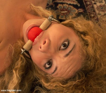 Photo number 3 from Kiki Daire shot for Hogtied on Kink.com. Featuring Kiki Daire in hardcore BDSM & Fetish porn.