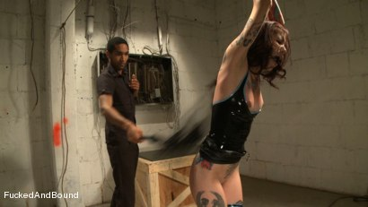 Photo number 9 from Tattooed Trailer Trash shot for  on Kink.com. Featuring Krysta Kaos and Mickey Mod in hardcore BDSM & Fetish porn.