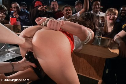 Photo number 7 from Smoking hot Brunette Humiliated and Fucked in Public shot for Public Disgrace on Kink.com. Featuring Karlo Karrera and Mia Gold in hardcore BDSM & Fetish porn.