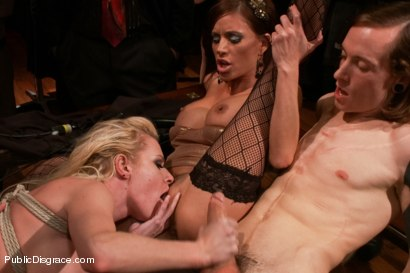 Photo number 11 from Busty Blonde Bombshell Bent Doggy Style and Fucked shot for Public Disgrace on Kink.com. Featuring Mark Wood and Riley Evans in hardcore BDSM & Fetish porn.