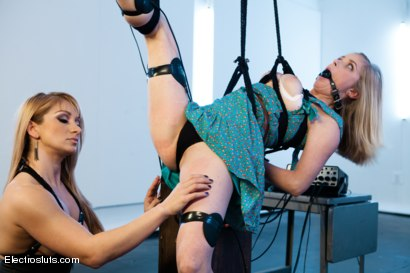 Photo number 3 from Is Penny Still one of the Toughest? shot for Electro Sluts on Kink.com. Featuring Penny Pax and Lea Lexis in hardcore BDSM & Fetish porn.