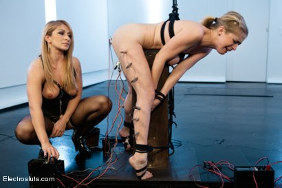 Photo number 10 from Penny Loves the Pain shot for Electro Sluts on Kink.com. Featuring Penny Pax and Lea Lexis in hardcore BDSM & Fetish porn.