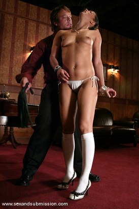Photo number 4 from Isis Love and Kurt Lockwood shot for Sex And Submission on Kink.com. Featuring Isis Love and Kurt Lockwood in hardcore BDSM & Fetish porn.