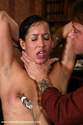Photo number 5 from Isis Love and Kurt Lockwood shot for Sex And Submission on Kink.com. Featuring Isis Love and Kurt Lockwood in hardcore BDSM & Fetish porn.