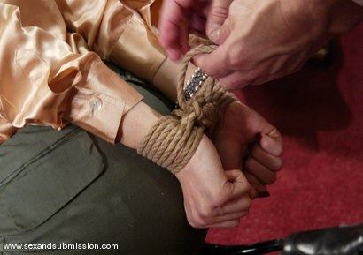 Photo number 3 from Talon and Roxetta shot for Sex And Submission on Kink.com. Featuring Roxetta and Talon in hardcore BDSM & Fetish porn.
