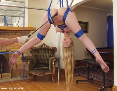 Photo number 9 from Chanta-Rose shot for Hogtied on Kink.com. Featuring Chanta-Rose in hardcore BDSM & Fetish porn.