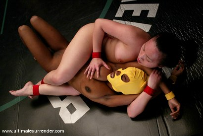 Photo number 5 from Kitty (0-0) vs. Samurai (0-0) shot for Ultimate Surrender on Kink.com. Featuring Yellow Kitty and ChynaWhite in hardcore BDSM & Fetish porn.