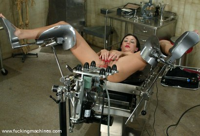 Photo number 12 from Wenona shot for Fucking Machines on Kink.com. Featuring Wenona in hardcore BDSM & Fetish porn.
