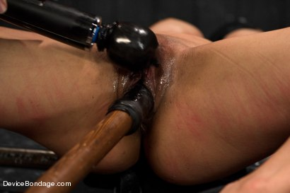 Photo number 5 from Tia Ling - Tormented WHORE shot for Device Bondage on Kink.com. Featuring Tia Ling in hardcore BDSM & Fetish porn.