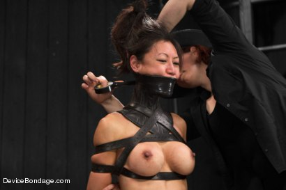 Photo number 7 from Tia Ling - Tormented WHORE shot for Device Bondage on Kink.com. Featuring Tia Ling in hardcore BDSM & Fetish porn.