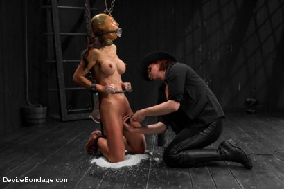 Photo number 4 from Tia Ling - Tormented WHORE shot for Device Bondage on Kink.com. Featuring Tia Ling in hardcore BDSM & Fetish porn.