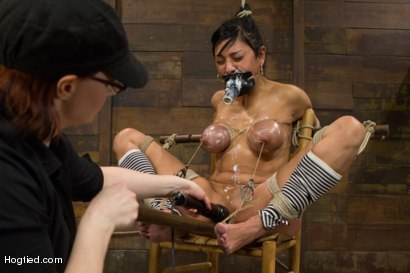Photo number 9 from Beretta - Challenged with Wanton Cruelty shot for Hogtied on Kink.com. Featuring Beretta James in hardcore BDSM & Fetish porn.