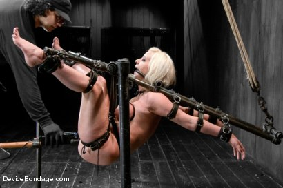 Photo number 10 from Claire & Orlando vs Cherry Torn - ULTIMATE 2 on 1 Smack Down! shot for Device Bondage on Kink.com. Featuring Cherry Torn and Orlando in hardcore BDSM & Fetish porn.
