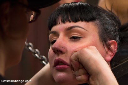 Photo number 13 from Nikki Darling & Katharine Cane - Complete Edited Live Show shot for Device Bondage on Kink.com. Featuring Mz Berlin, Nikki Darling and Katharine Cane in hardcore BDSM & Fetish porn.