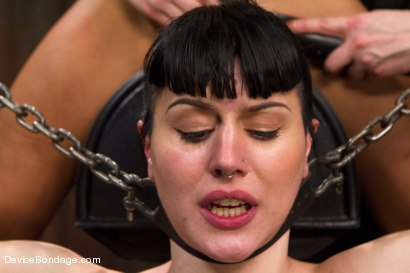 Photo number 15 from Nikki Darling & Katharine Cane - Complete Edited Live Show shot for Device Bondage on Kink.com. Featuring Mz Berlin, Nikki Darling and Katharine Cane in hardcore BDSM & Fetish porn.
