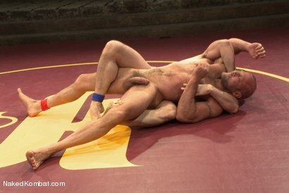 """Photo number 6 from Chad """"Bulldog"""" Brock vs Morgan """"The Attack"""" Black  Morgan's Chance at Redemption shot for Naked Kombat on Kink.com. Featuring Chad Brock and Morgan Black in hardcore BDSM & Fetish porn."""