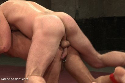 """Photo number 11 from Chad """"Bulldog"""" Brock vs Morgan """"The Attack"""" Black  Morgan's Chance at Redemption shot for Naked Kombat on Kink.com. Featuring Chad Brock and Morgan Black in hardcore BDSM & Fetish porn."""