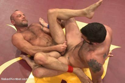 "Photo number 14 from Chad ""Bulldog"" Brock vs Morgan ""The Attack"" Black <br/> Morgan's Chance at Redemption shot for Naked Kombat on Kink.com. Featuring Chad Brock and Morgan Black in hardcore BDSM & Fetish porn."