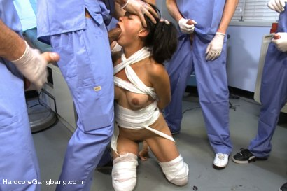 Photo number 7 from Dana Vespoli's Medical Malpractice Fantasy Comes True! shot for Hardcore Gangbang on Kink.com. Featuring Dana Vespoli, Danny Wylde, Karlo Karrera, Mark Davis, Mark Wood and Brandon Fox in hardcore BDSM & Fetish porn.
