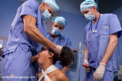 Photo number 13 from Dana Vespoli's Medical Malpractice Fantasy Comes True! shot for Hardcore Gangbang on Kink.com. Featuring Dana Vespoli, Danny Wylde, Karlo Karrera, Mark Davis, Mark Wood and Brandon Fox in hardcore BDSM & Fetish porn.
