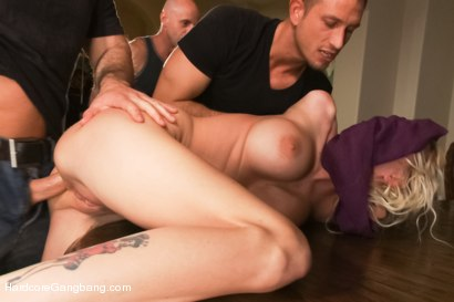 Photo number 3 from Rich Blonde Cunt Fantasizes About Getting What she Deserves shot for Hardcore Gangbang on Kink.com. Featuring John Strong, Astral Dust, Bill Bailey, Riley Evans, Mr. Pete and Michael Vegas in hardcore BDSM & Fetish porn.
