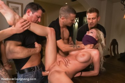 Photo number 5 from Rich Blonde Cunt Fantasizes About Getting What she Deserves shot for Hardcore Gangbang on Kink.com. Featuring John Strong, Astral Dust, Bill Bailey, Riley Evans, Mr. Pete and Michael Vegas in hardcore BDSM & Fetish porn.