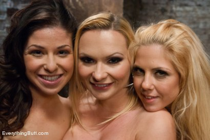 Photo number 15 from Fresh Meat Anal Whores! shot for Everything Butt on Kink.com. Featuring Katja Kassin, Holly Hanna and Mia Gold in hardcore BDSM & Fetish porn.