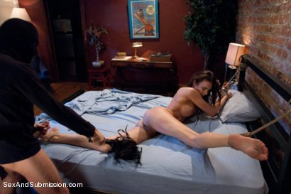Photo number 4 from Forbidden Confessions: Tiffany has rough sex with a burglar! shot for Sex And Submission on Kink.com. Featuring James Deen and Tiffany Tyler in hardcore BDSM & Fetish porn.