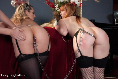 Photo number 5 from Obedient Anal Sluts shot for Everything Butt on Kink.com. Featuring Dahlia Sky, Claire Robbins and Krissy Lynn in hardcore BDSM & Fetish porn.