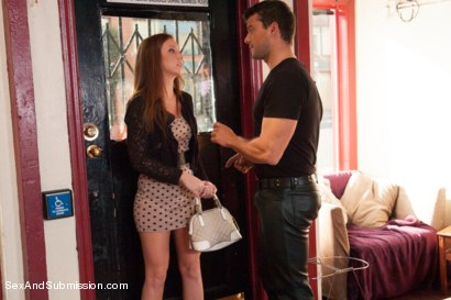 Photo number 2 from The Kinky Cafe shot for Sex And Submission on Kink.com. Featuring Ramon Nomar and Maddy O'Reilly in hardcore BDSM & Fetish porn.