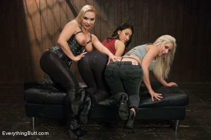 Photo number 1 from Pure Anal: Sammie Spades and Jayden Lee shot for Everything Butt on Kink.com. Featuring Katja Kassin, Jayden Lee and Sammie Spades in hardcore BDSM & Fetish porn.
