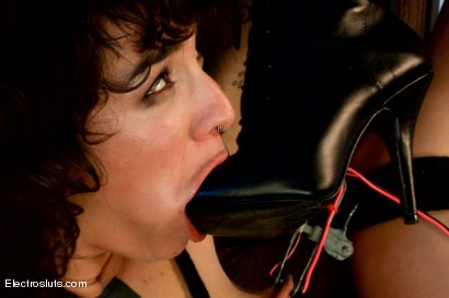 Photo number 12 from Hair Fetish Model, Bianca, is Back for intense Electrosex! shot for Electro Sluts on Kink.com. Featuring Lorelei Lee and Bianca Stone in hardcore BDSM & Fetish porn.