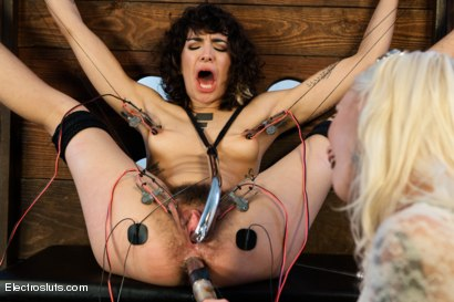 Photo number 1 from Hair Fetish Model, Bianca, is Back for intense Electrosex! shot for Electro Sluts on Kink.com. Featuring Lorelei Lee and Bianca Stone in hardcore BDSM & Fetish porn.