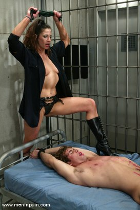 Photo number 9 from Nick Jacobs, Kym Wilde and Penny Flame shot for Men In Pain on Kink.com. Featuring Kym Wilde, Penny Flame and Nick Jacobs in hardcore BDSM & Fetish porn.