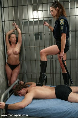Photo number 1 from Nick Jacobs, Kym Wilde and Penny Flame shot for Men In Pain on Kink.com. Featuring Kym Wilde, Penny Flame and Nick Jacobs in hardcore BDSM & Fetish porn.