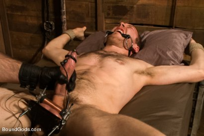 Photo number 12 from Spencer Reed last shoot before moving to Europe! shot for Bound Gods on Kink.com. Featuring Spencer Reed and     Cody Allen in hardcore BDSM & Fetish porn.