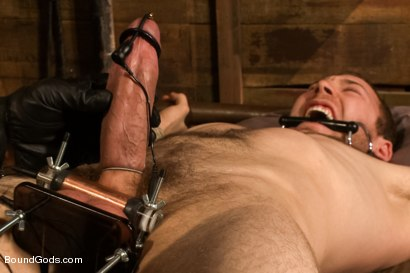 Photo number 11 from Spencer Reed last shoot before moving to Europe! shot for Bound Gods on Kink.com. Featuring Spencer Reed and Cody Allen in hardcore BDSM & Fetish porn.