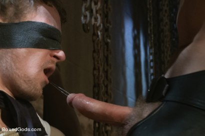 Photo number 1 from Perverted Leather Daddy and His Helpless Captive shot for Bound Gods on Kink.com. Featuring Adam Herst and Cole Brooks in hardcore BDSM & Fetish porn.