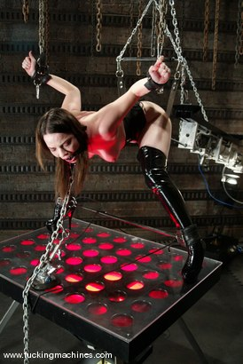 Photo number 14 from Dana DeArmond shot for Fucking Machines on Kink.com. Featuring Dana DeArmond in hardcore BDSM & Fetish porn.