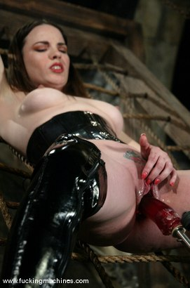 Photo number 3 from Dana DeArmond shot for Fucking Machines on Kink.com. Featuring Dana DeArmond in hardcore BDSM & Fetish porn.