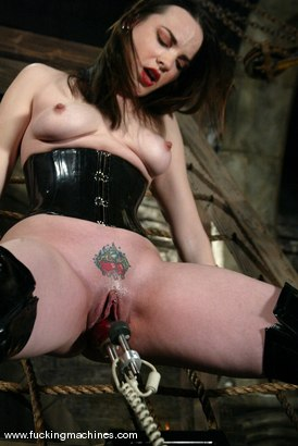 Photo number 5 from Dana DeArmond shot for Fucking Machines on Kink.com. Featuring Dana DeArmond in hardcore BDSM & Fetish porn.