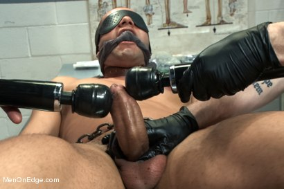 Photo number 4 from Carter West is medically examined and edged by two perverts shot for Men On Edge on Kink.com. Featuring Carter West in hardcore BDSM & Fetish porn.