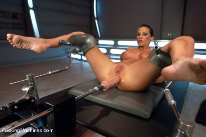 Photo number 4 from Cock Bending Pussy of Steel to Go w/Her Guns and Abs: Welcome Ariel X! shot for Fucking Machines on Kink.com. Featuring Ariel X in hardcore BDSM & Fetish porn.