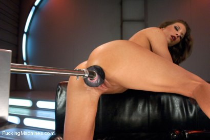 Photo number 5 from Cock Bending Pussy of Steel to Go w/Her Guns and Abs: Welcome Ariel X! shot for Fucking Machines on Kink.com. Featuring Ariel X in hardcore BDSM & Fetish porn.