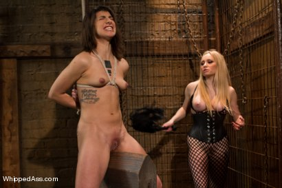 Photo number 2 from Fisting Bianca shot for Whipped Ass on Kink.com. Featuring Bianca Stone and Aiden Starr in hardcore BDSM & Fetish porn.