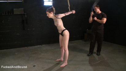 Photo number 4 from True Submission shot for Brutal Sessions on Kink.com. Featuring TJ Cummings and Kristine in hardcore BDSM & Fetish porn.